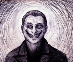 Grinning Man 3 by TheIckyMan