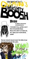 Mighty Boosh Meme by stehfuhknee