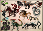 CHAOS! Creature adopts -CLOSED- by Taluns