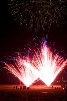 2009 fireworks 2 by AmblingPhotographer