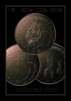 1939  Cat_Fruit_Clock COINS by Rickbw1