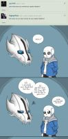 Ask (Sans and Gaster Blaster) New names by taggen96