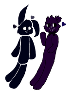 Shadow babs :w:: by brokejaycats