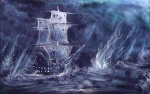 The Black Pearl by Warpent