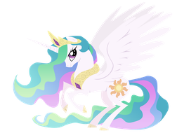 Princess Celestia Vector by VaneFox