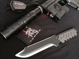 Metal gear solid 4 Knife home made v3 by Gollum-net