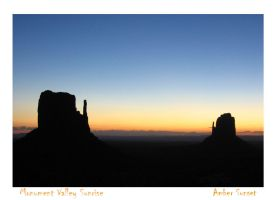 Monument Valley Sunrise by AmberSunset
