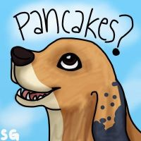pancakes? by wolfhailstorm