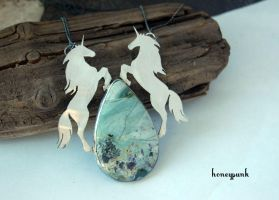unicorn silver sterling by honeypunk