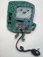 Quilling - BMO by Sszymon14