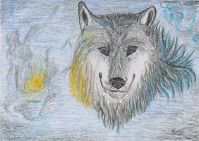 Wolf by Martin-Luure