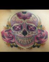 Sugar Skull by MickWrath
