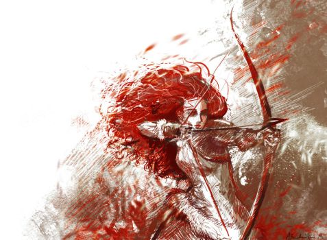 Kissed by fire by Ines92
