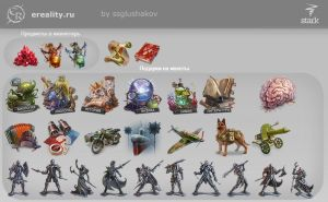 Ereality game art 1 by DinoDrawing