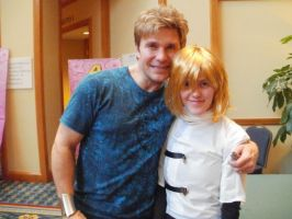 Vic Mignogna and Fai D. Flourite by TwilightKeyblade928