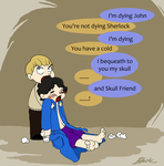 Sherlock - The dying detective by caycowa