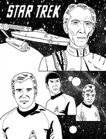 Star Trek - Capt. Kirk's new arch enemy #3 by RoyPrince