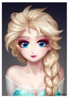 Frozen Elsa by ango3144