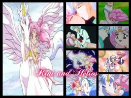 Chibi-Usa/Rini and Helios/Pegasus by WinterMoon95