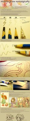 How to Draw Nostalgically by Raindropmemory