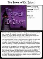 1001 Animations - The Tower of Dr. Zalost by toxicanvil243
