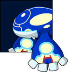 GENSHI Kyogre by spacetimePSD