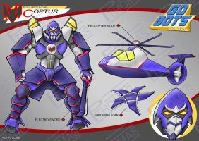 Gobots Animated Coptur by PWThomas