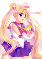 Sailormoon +Moon Prism Powaaaa+ by Tani2691