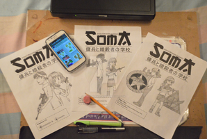 SOMA Book 1-Title Page Progression by TheRebornAce