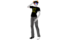 MMD Sollux Captor Ver 1.0 DL by chickid11