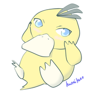 Psyduck Pokemon by kuraikuro