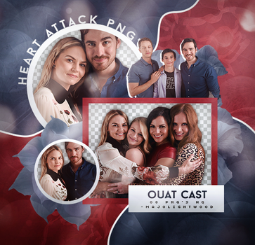 Pack Png: Once Upon A Time Cast #385 by MockingjayResources
