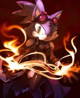 Blaze the cat +Chandra+ by nancher