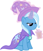 Trixie vector by PhilomenaThePhoenix