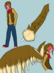 Pecks the Fearow by PyroShadow117