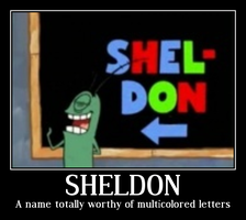 Sheldon by HideHannah
