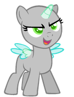 Confident Filly  --BASE-- by iVuiAdopts