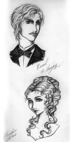 Raoul et Christine by The-Savage-Nymph
