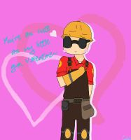 Engie Valentine by Cakeu-chan89