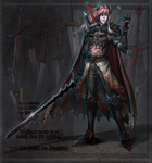 LOS: Contract Demon - Sir Noctis von Sanguine by TraceofHatred