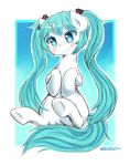 Miku Pony - Fullcolor Sketch [''Commission''] by Nekowy