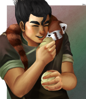 Bolin and Pabu by Pink-Wasabee