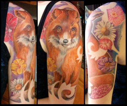 A Fox for Elspeth by catbones