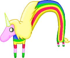 Lady Rainicorn by pringlina10298