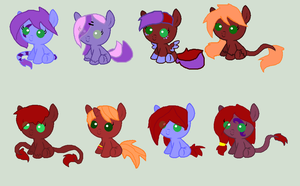 Breed Adopts 2 by REDandYELLOWZ