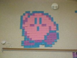 Kirby Post It by Physiqs