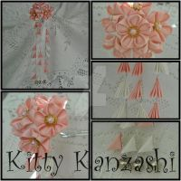 Traditional Cherry Blossom by kittykanzashi