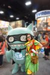 Medieval Robin and SDCC Uglydoll by TrueError