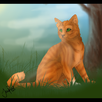 Squirrelflight of ThunderClan by TheMoonfall