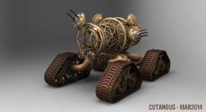 All track pressurized vehicle by CUTANGUS
